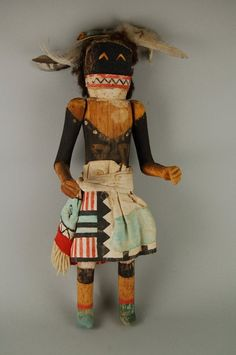 Brooklyn Museum: Arts of the Americas: Kachina Doll (Chakwana)