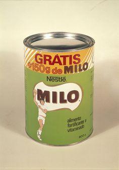Chocolate em pó Milo, Portugal by Biblioteca de Arte-Fundação Calouste Gulbenkian, via Flickr