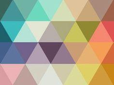 Ideas For Geometric Art Prints Triangles Patterns Geometric Patterns, Geometric Art, Textures Patterns, Fabric Patterns, Color Patterns, Triangles, Pattern Art, Pattern Design, Polygon Pattern