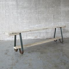 Located using retrostart.com > Bench by Unknown Designer for Unknown…