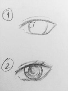 realistic easy eye drawing drawings tutorial simple tips cartoon awesome tutorials designs
