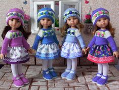 Начинаем готовится к весне / Одежда и обувь для кукол - своими руками и не только / Бэйбики. Куклы фото. Одежда для кукол