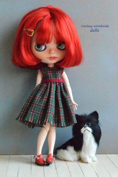 Handgefertigte Kleidung für Blythe und Pullip outfit