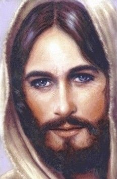 My very, VERY favorite painting of our loving savior Jesus.  What an amazing story behind how this one came about too!  Have this very image hanging on my living room wall!