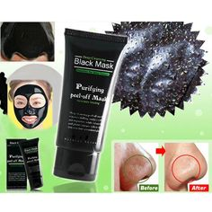 Deep Cleansing Black Mask - Blackhead and Whitehead Removal Facial Mask