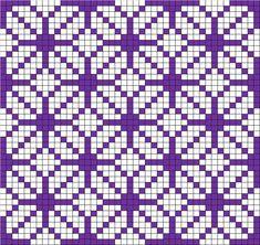 Modelli e schemi uncinetto filet Pagina 18 – Fotogallery Donnaclick - Herzlich willkommen Tapestry Crochet Patterns, Crochet Motifs, Weaving Patterns, Crochet Yarn, Crochet Home, Filet Crochet Charts, Knitting Charts, Knitting Stitches, Knitting Patterns