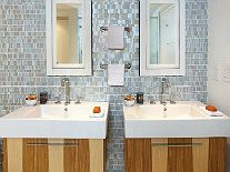 Kitchen & Bath Remodeling - Granite Transformations surface put over existing sinks/counters