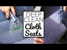 Car Upholstery Cleaning Tips Cleaning Car Upholstery, Upholstery Cleaner, Car Cleaning Hacks, Deep Cleaning, Car Interior Cleaning, Fall Cleaning, Car Hacks, Clean Cloth Car Seats, Cloth Car Seat Cleaner