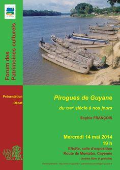 Forum «Les Pirogues de #Guyane du 18e siècle à nos jours», mercredi 14 mai, à 19h, à l'#EnCre: http://bit.ly/1uHzquV  pic.twitter.com/2kkS9gBWz2