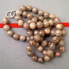 Neck - katura custom designed jewelry with pearls, raw diamonds & gemstones