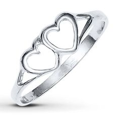 Jared - Heart Ring Sterling Silver