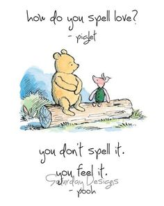 Aww Winnie the Pooh is the wisest of us all.