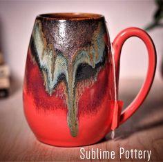 Mug by Amanda Joy Wells of Sublime Pottery Glazes For Pottery, Pottery Mugs, Pottery Art, Ceramic Pottery, Ceramic Art, Make A Mug, Amaco Glazes, Pretty Mugs, Pottery Designs