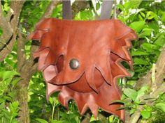 Umhängetaschen - Ledertasche Lebensbaum - ein Designerstück von Adriani-Lada bei DaWanda