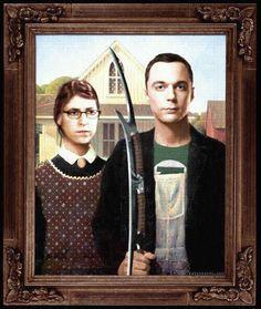 American Gothic meets Big Bang Theory