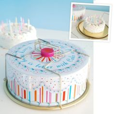 GVB CAKE CARRIER TIN