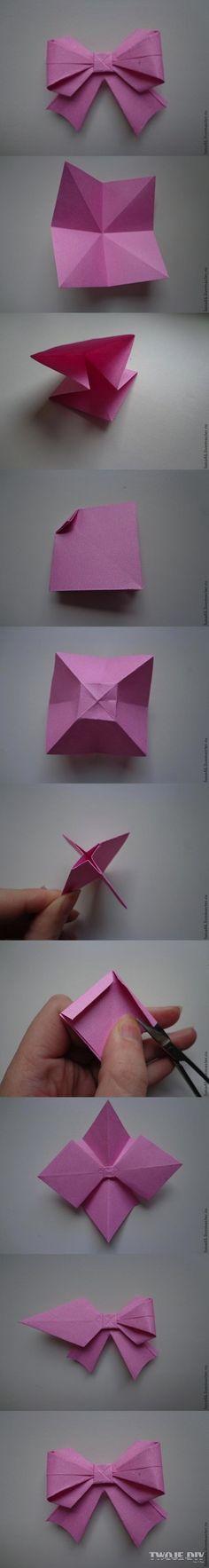 Papierowa kokardka