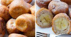 recept Kousky banánů ve skořicovém těstíčku - smažená pochoutka