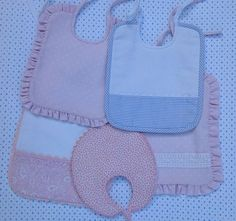 tutorial con video para hacer baberos, baby bib
