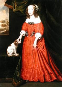 'Lady in Red Dress' by Gilbert Jackson 1636.
