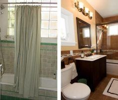 small bathroom remodeling before after