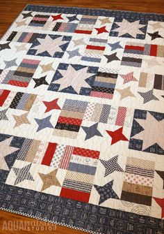 Gorgeous photo - review our short post for a lot more designs! #halfsquaretrianglequilts