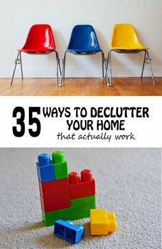 35 Ways To DECLUTTER Your Home That Actually Work