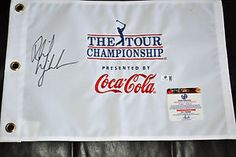 Phil Mickelson Signed Tour Chamionship Flag Global COA Masters British Open   eBay
