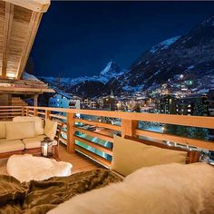 Luxury Chalet Zermatt @switzerland.hotels #hotelsandresorts #Switzerland ❄