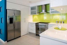 Bright Coloured Kitchens