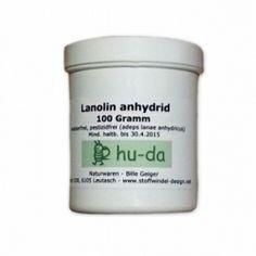Wollwachs/Lanolin anhydrid, pestizidkontrolliert, 100 g