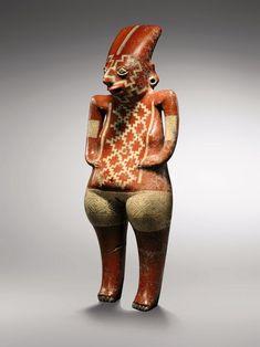 Gran Venus Callipyge. Cultura Chupicuaro (Guanajuato, México). Cerámica policromada. Periodo Maya Preclásico. Precio: alrededor de 2 millones de euros.