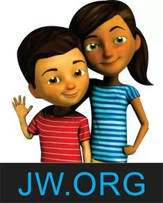 ... on #jw.org! - just love the two characters, Caleb and Sophia >>>They are awesome love the videos @ jw.org