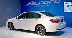 As a mainstream mid-size car, 2015 Honda Accord Hybrid is offered a few ways. Beside hybrid and plug-in models, conventional Accords come with sedan and coupe body styles. 2015 Honda Accord Sedan, Used Cars Online, Mid Size Car, Upcoming Cars, Honda Cars, New Honda, Top Cars, Dream Cars, Automobile