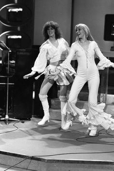 I created this thread to share images of the girls that do not include the boys - as suggested by member Poul :) So remember - no boys allowed ! And as we already have individual topics for Mamma Mia, Brighton, Abba Mania, No Boys Allowed, Dance Routines, 70s Fashion, Pop Group, Vintage Outfits, Girl Outfits