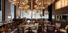 The Restaurant in The Chedi Hotel, Andermatt, Switzerland