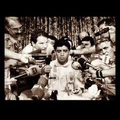 """Me partieron las piernas"" Maradona, USA 94"