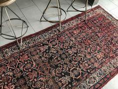 3x9 Persian Lilihan Antique Rug Hallway Runner Long Runner Rug