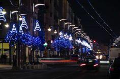 Gdyńska iluminacja świąteczna na ul. Świętojańskiej / Christmas lights in Gdynia streets | fot. Marcin Kostrzyński | #christmas #iluminacja #gdynia