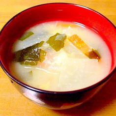 定番の具だくさん味噌汁です。 - 85件のもぐもぐ - 具だくさん味噌汁 by mayumi0525