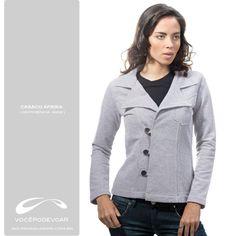 Casaco Afrika /  Referência: 6938 /  Disponível nas cores: Branco/Preto e Azul/Preto