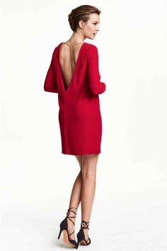 Vestido en tejido de crepé 39,99 €