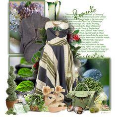 """In The Garden"" by gaburrus on Polyvore"