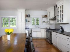 Located just across from picturesque Silver Lake, this 1750 farmhouse is a country paradise. Nestled in Sharon, Connecticut...