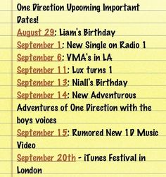 Important Dates about One Direction<<, Um your missing JULY 23rd that is a very important date!!!!