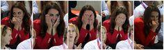 The many faces of The Duchess ~ Aquatics Centre