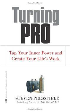 Turning Pro: Tap Your Inner Power and Create Your Life's Work by Steven Pressfield,http://www.amazon.com/dp/1936891034/ref=cm_sw_r_pi_dp_DWIksb130X1RY39J