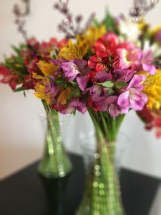 #arranjofloral #flowerarrangement #alstroemeria #colorido
