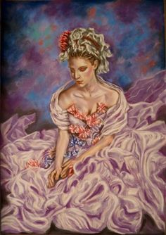 Buy Nymph jasmine, Pastel drawing by Anna  Sasim on Artfinder. Discover thousands of other original paintings, prints, sculptures and photography from independent artists.