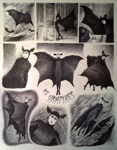 Les Vampires based on the Louis Feuillade 1916 serial for The Movie Show at Galerie Daniel Maghen by Drazen Kozjan